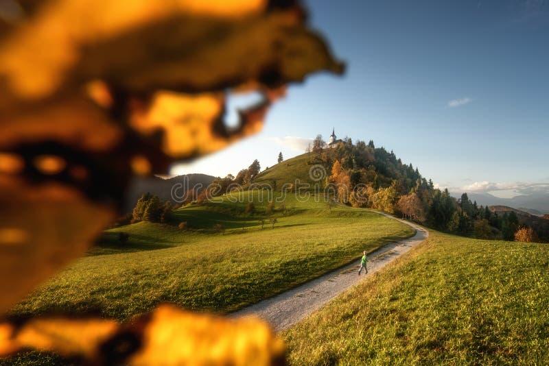 Осень в Свети-Якобе стоковое фото