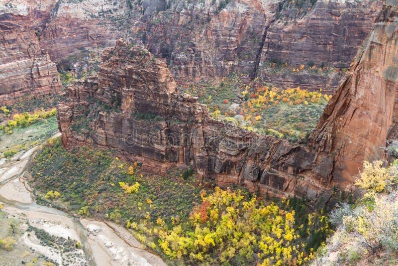 Осень в Сионе NP стоковое фото rf