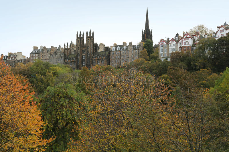Осень в Шотландии стоковые изображения rf