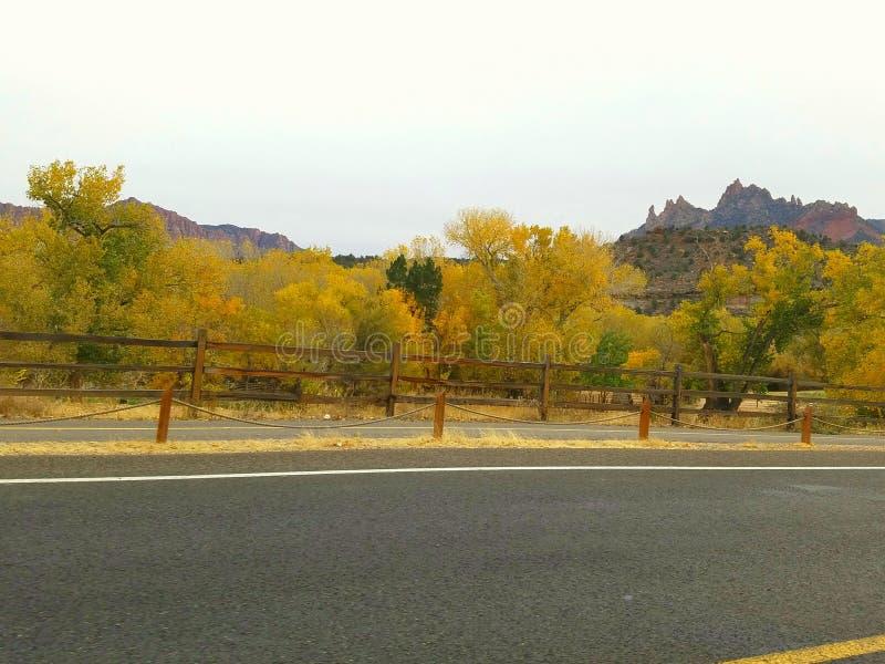 Осень в Юте стоковое фото rf