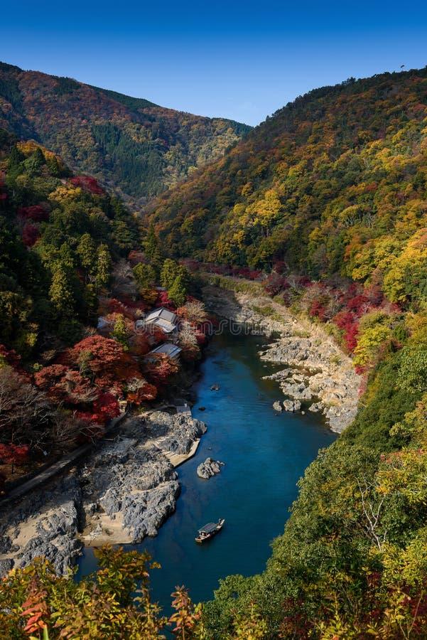 Осень Киото стоковое изображение
