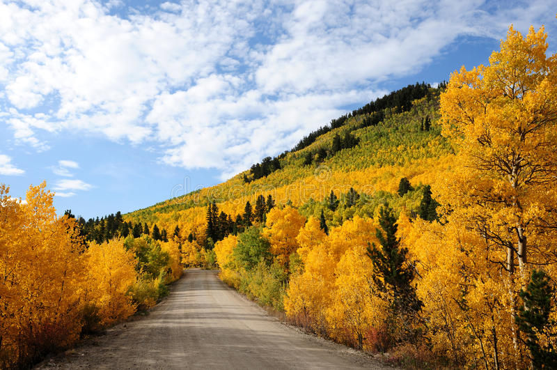 Осень на пропуске Boreas стоковые фотографии rf