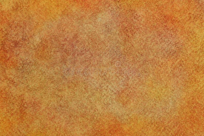 Осень покрасила текстуру холста grunge или предпосылку краски акварели года сбора винограда стоковое фото