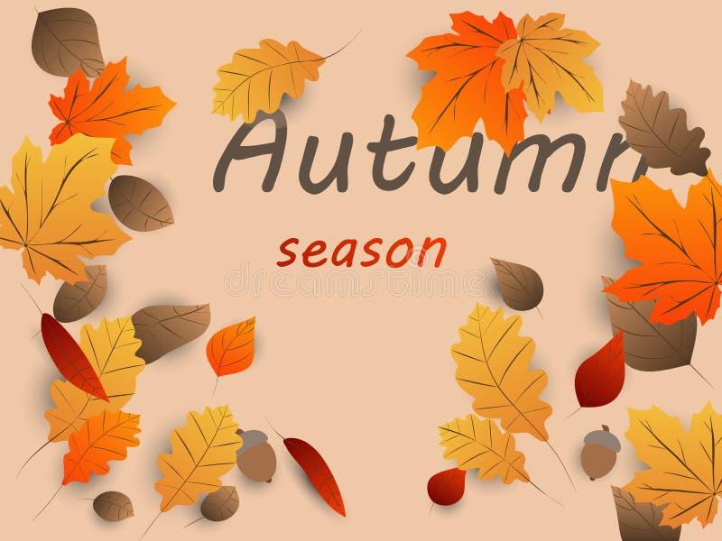 Осень - предпосылка 9 бесплатная иллюстрация