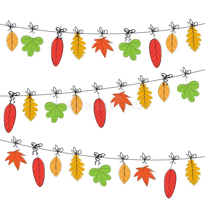 осень цветастая иллюстрация вектора
