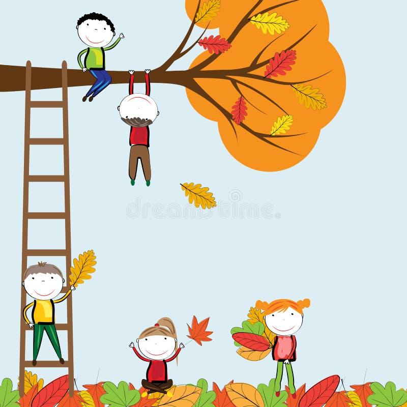 Осень иллюстрация штока