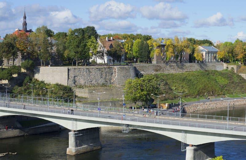 Осень Narva стоковые изображения