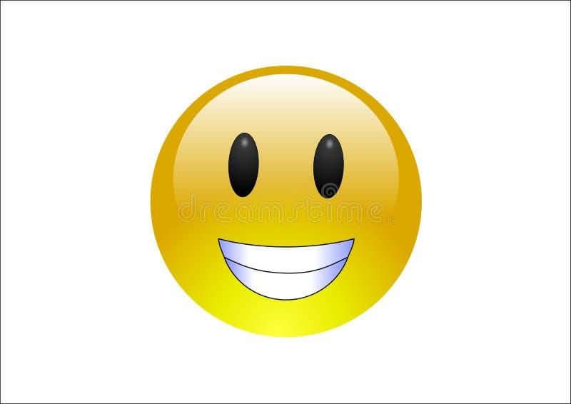 оскал emoticons aqua стоковые фото