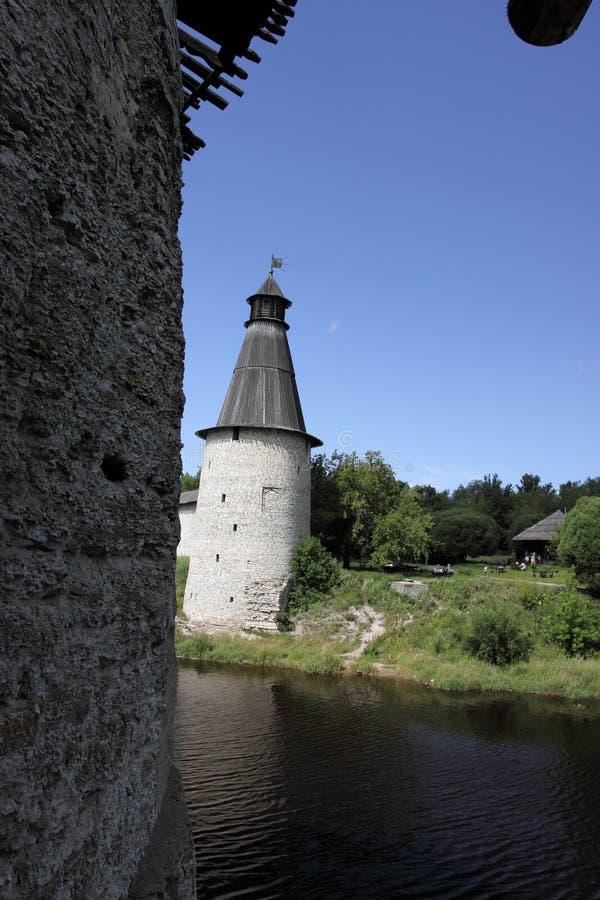 осматривать башен рек слияния стоковая фотография rf