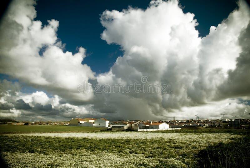 Осмотрите на сыворотках DEl Rei, Португалии стоковое фото rf