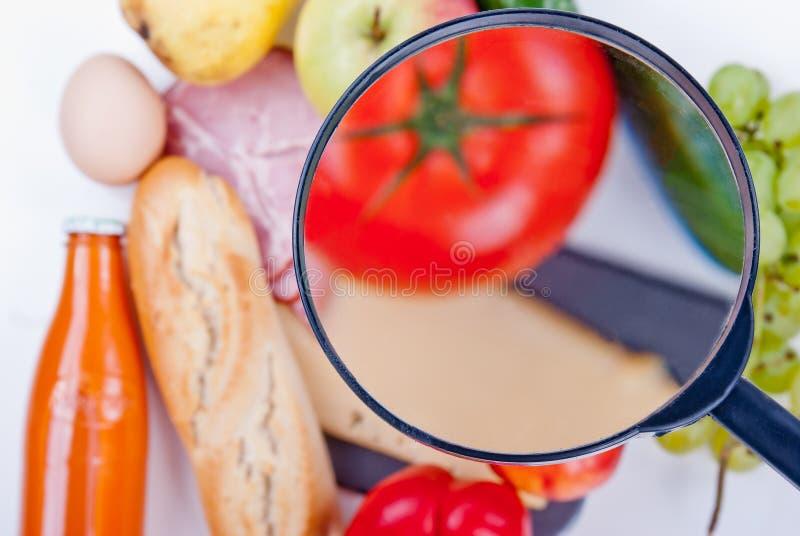 Осмотр еды стоковые фотографии rf