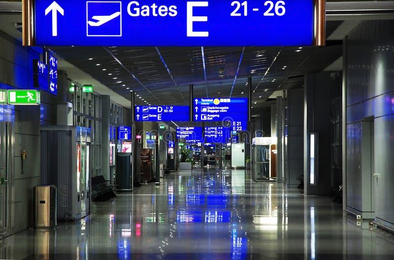 основа frankfurt Германии авиапорта стоковые фотографии rf