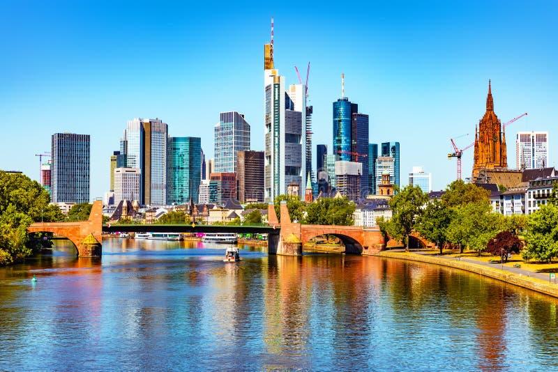 основа frankfurt Германии стоковые изображения rf