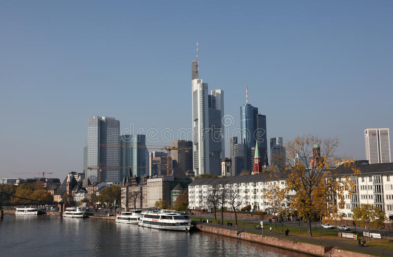 основа frankfurt Германии стоковое фото rf