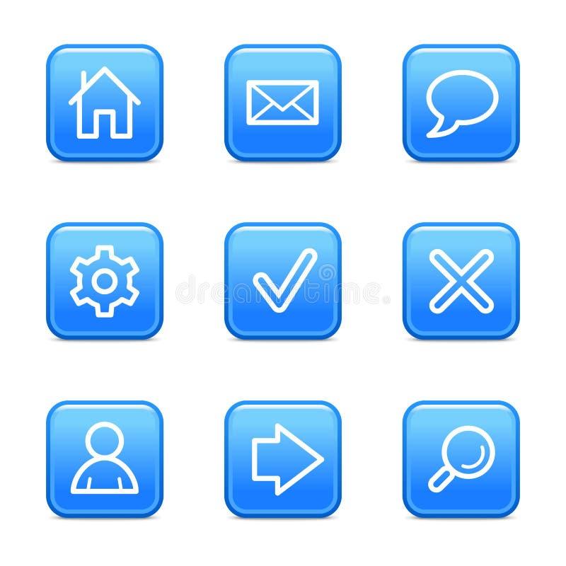основная сеть икон бесплатная иллюстрация