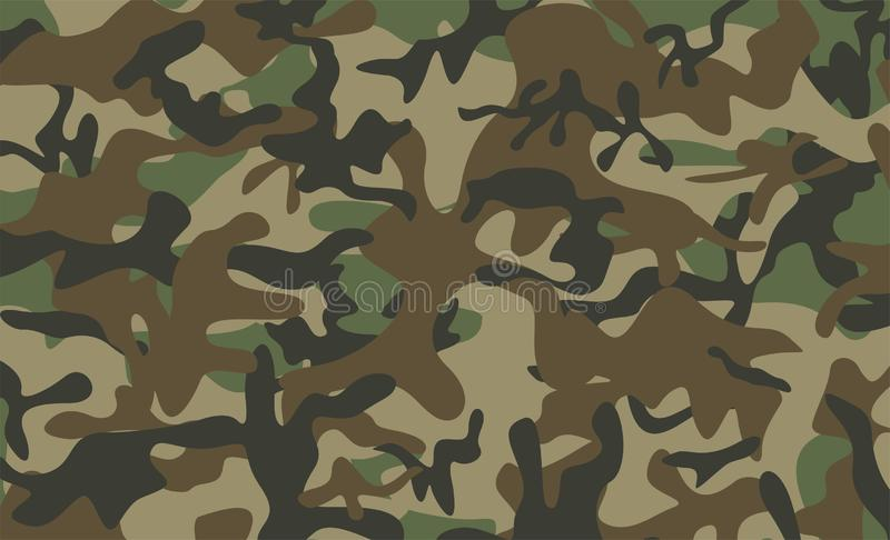 Camouflage pattern background royalty free illustration