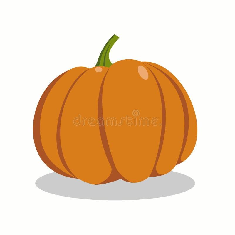 Orange pumpkin royalty free illustration