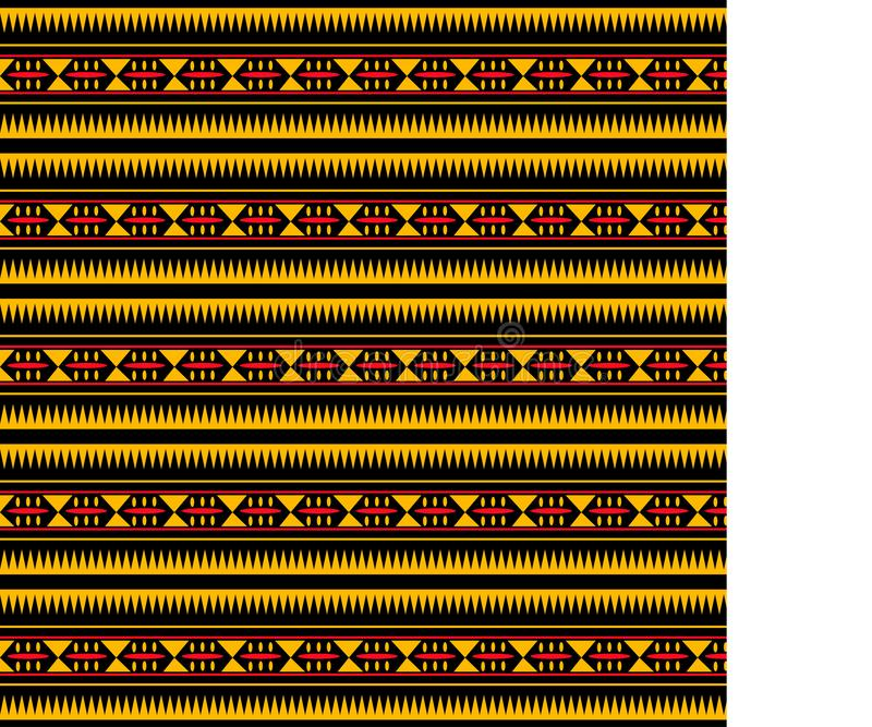 African traditional ornament. royalty free stock photo