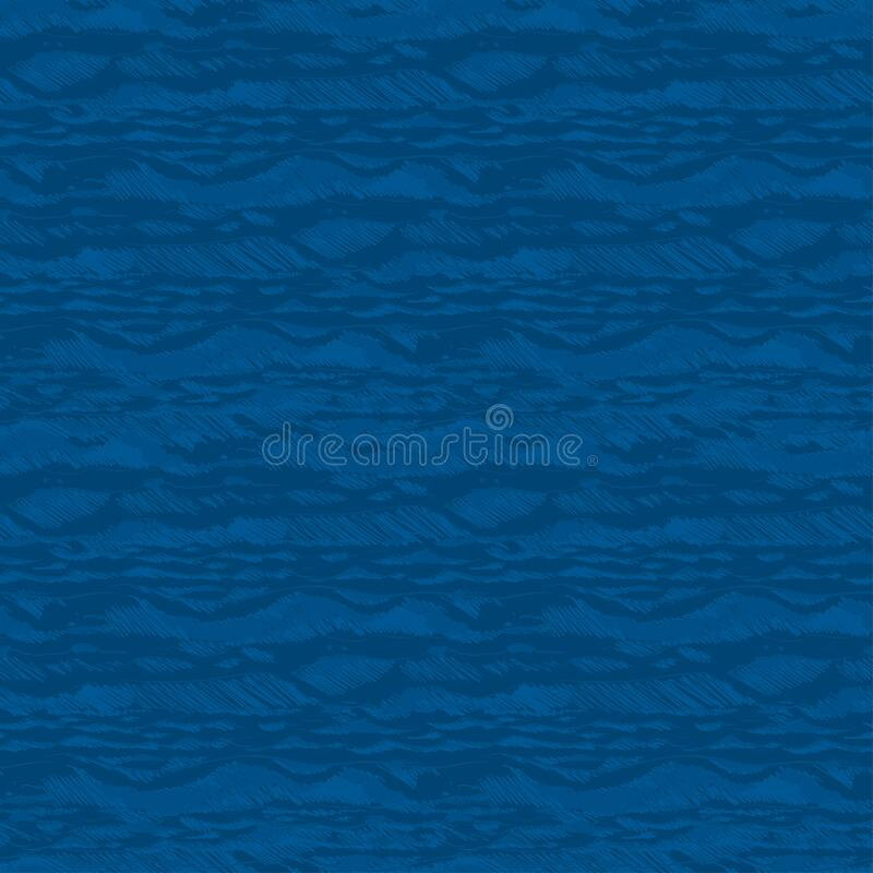 Colorful sea seamless pattern. Element for summer design. stock photos
