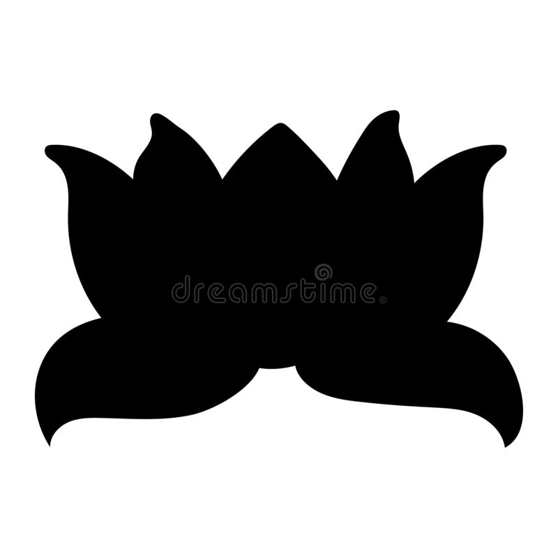 Lotus flower and leaves. stock photos