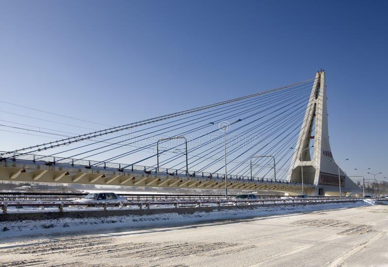 остали кабель моста, котор стоковое фото rf