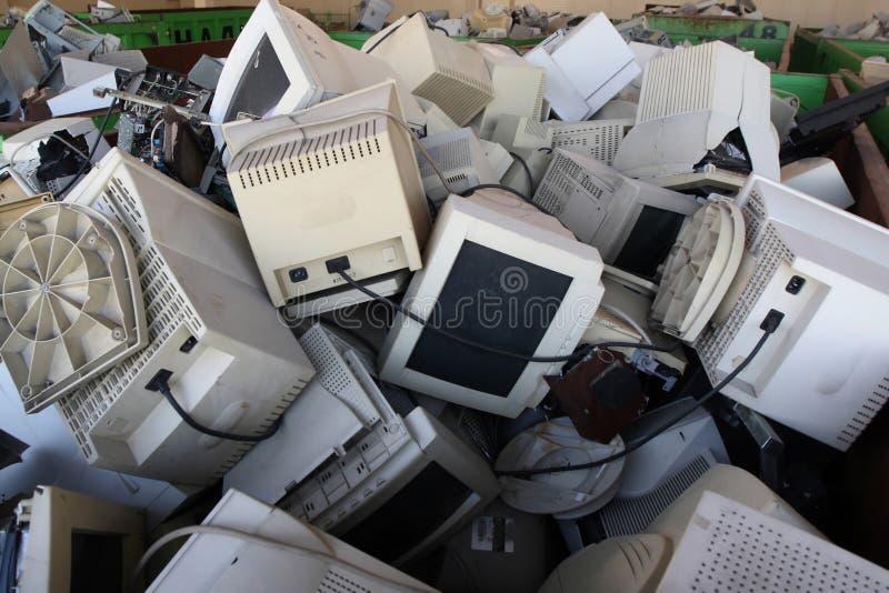 остаток электроники стоковое изображение rf