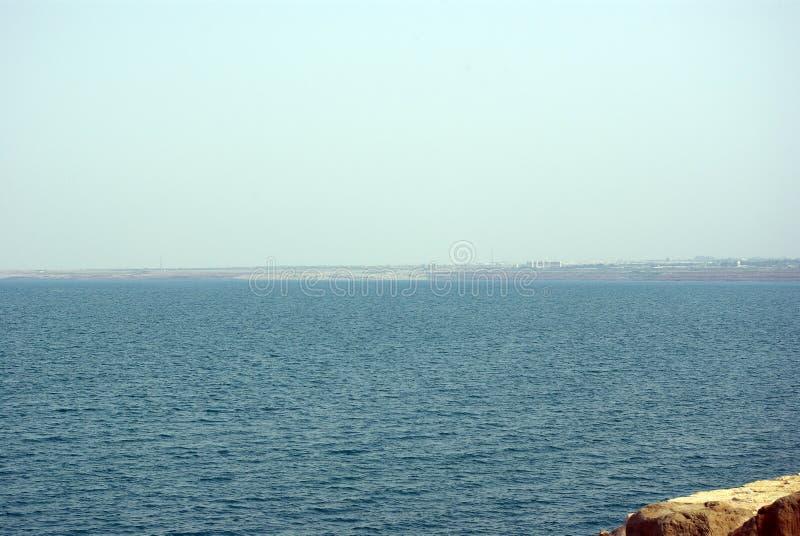 Остальнои мертвого моря Иордан стоковая фотография rf
