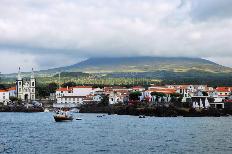 острова Азорских островов стоковые фото