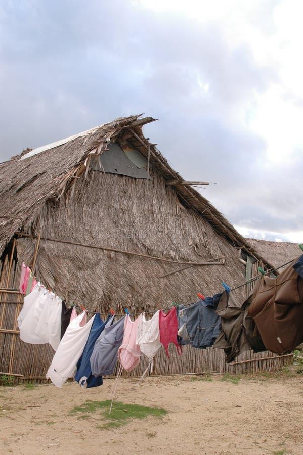 острова родная Панама san дома blas стоковое изображение