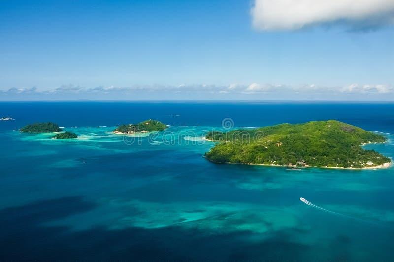 Острова Сейшельских островов стоковая фотография rf