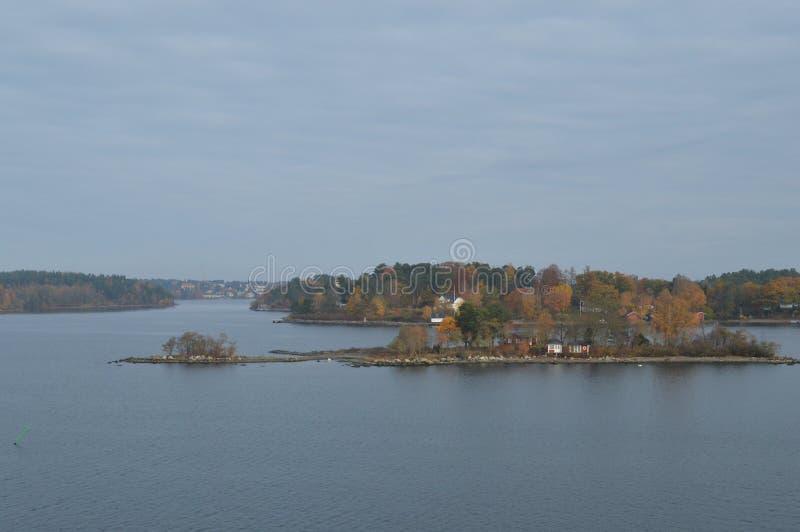 Острова Швеции в Балтийском море стоковое изображение
