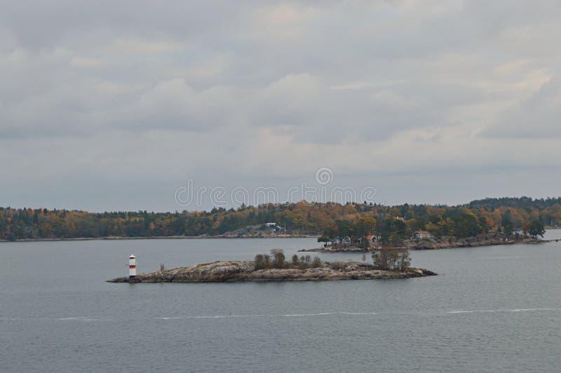 Острова Швеции в Балтийском море стоковые фотографии rf