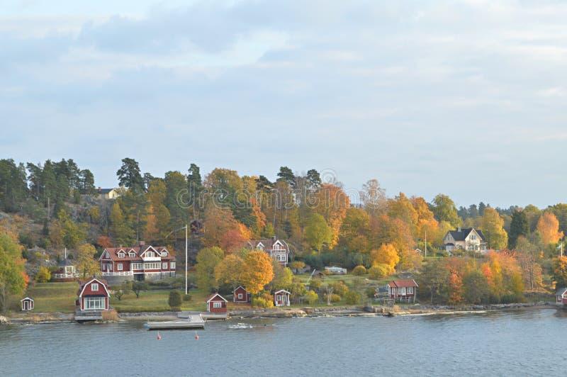 Острова Швеции в Балтийском море стоковая фотография