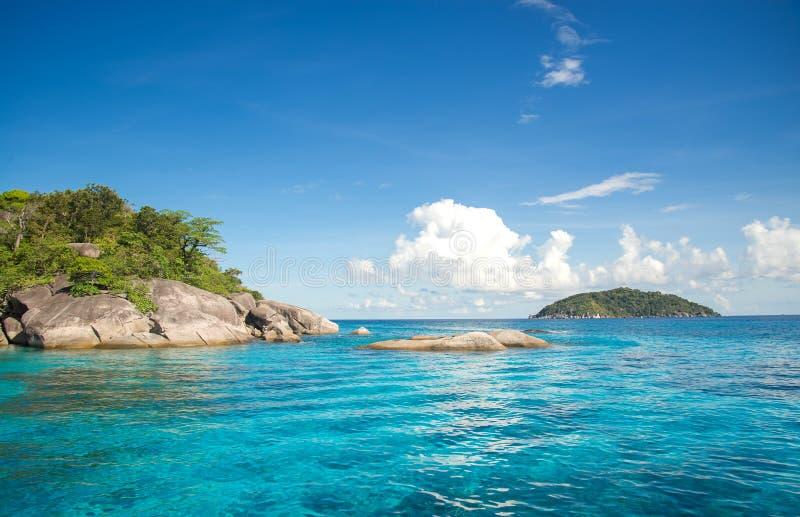 Острова Similan в море Andaman, стоковая фотография