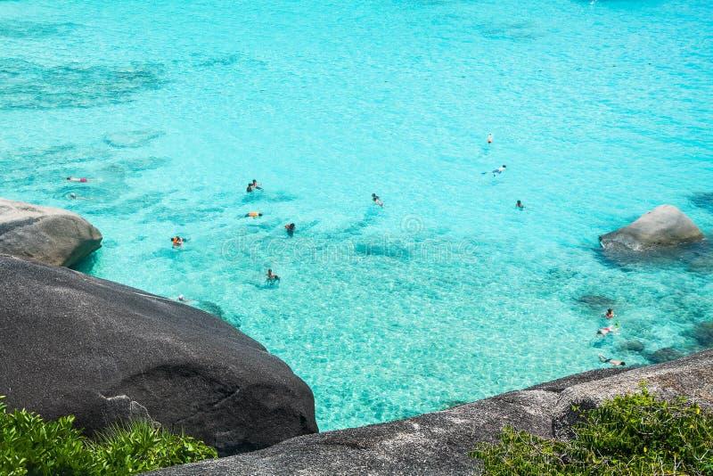 острова similan стоковые фотографии rf