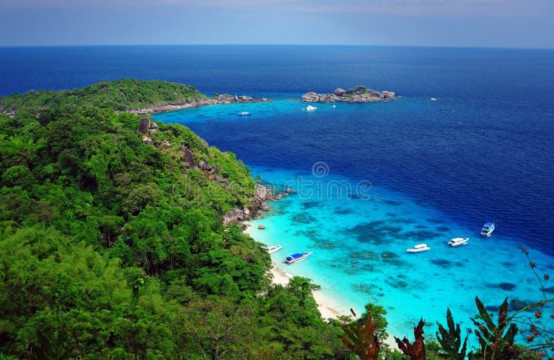 острова similan стоковое фото