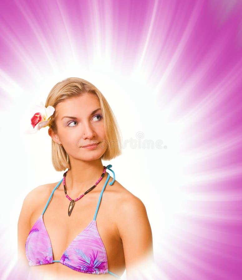 островитянин девушки стоковые изображения