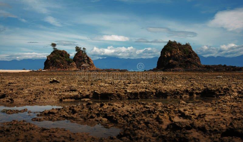 Островки Lukso-Lukso стоковые изображения rf
