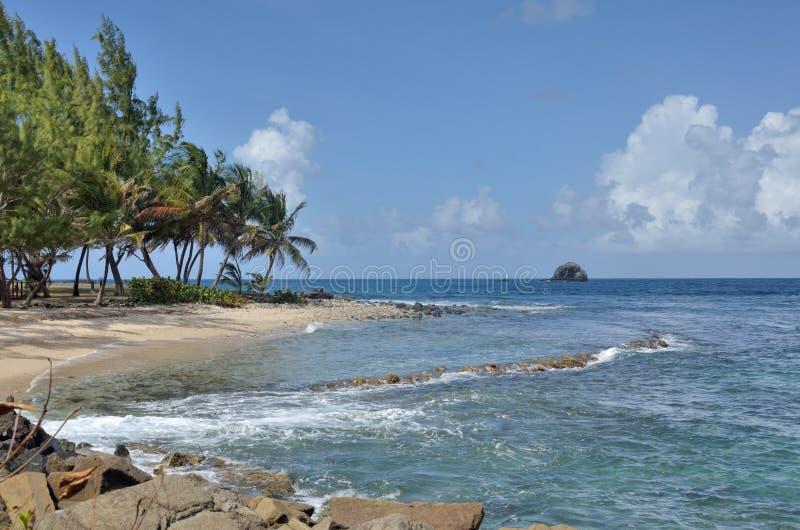 Островок Сент-Люсия gros в севере стоковое изображение rf