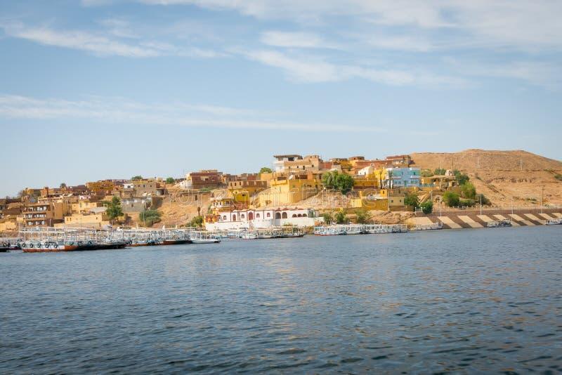 Островок Agilkia на Ниле стоковые фотографии rf