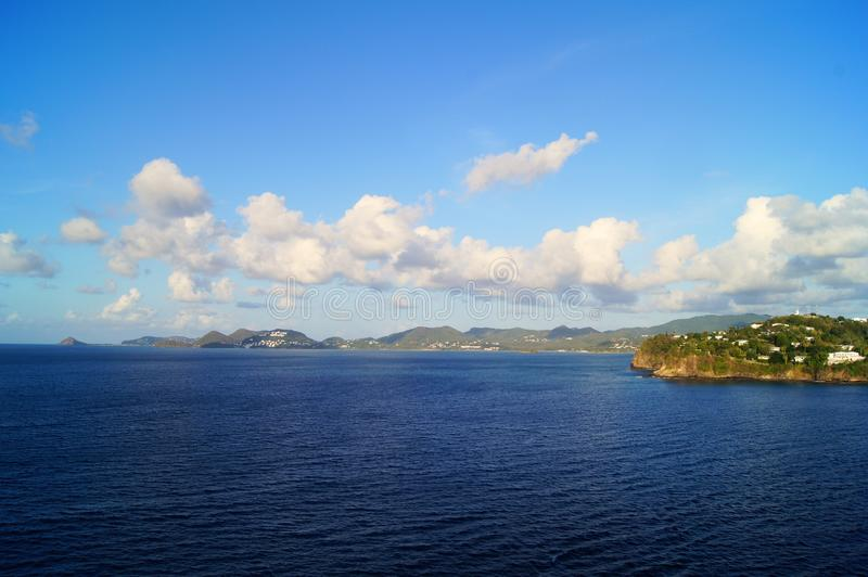 Остров ландшафта стоковое фото