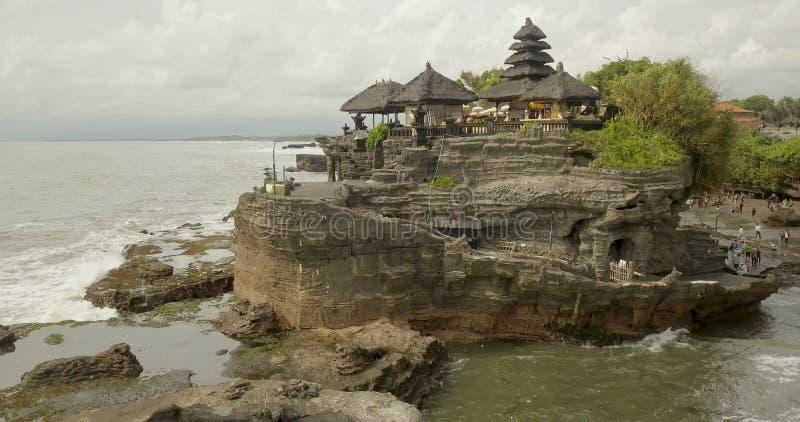 Остров Бали серии Tanah виска, взгляд от верхней части стоковые фото