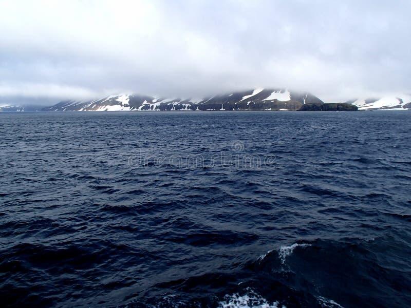 Остров Беринга море Беринга, командир острова стоковое фото