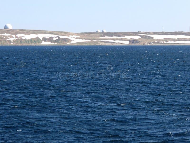 Остров Беринга море Беринга, командир острова стоковое фото rf
