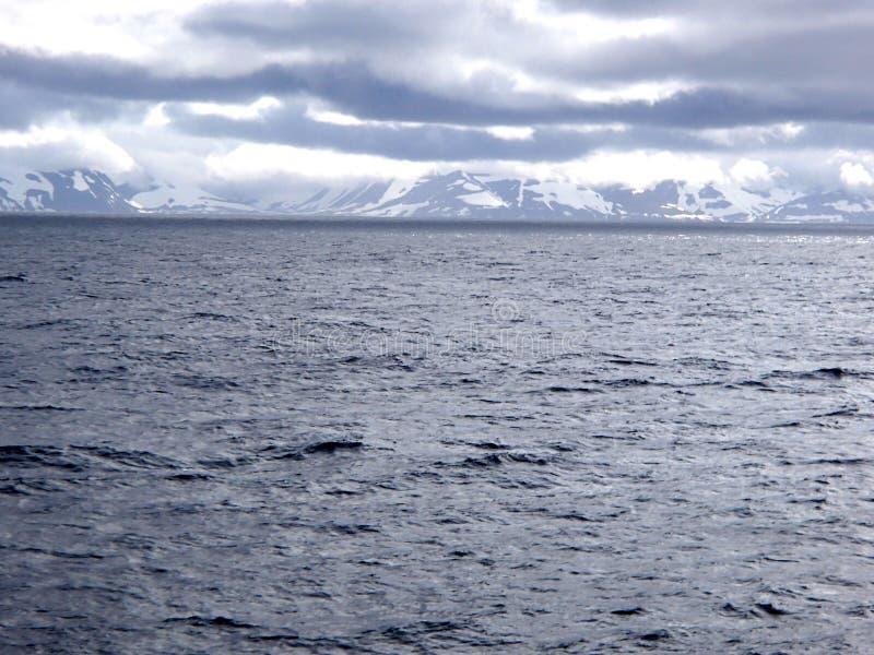 Остров Беринга море Беринга, командир острова стоковые фотографии rf