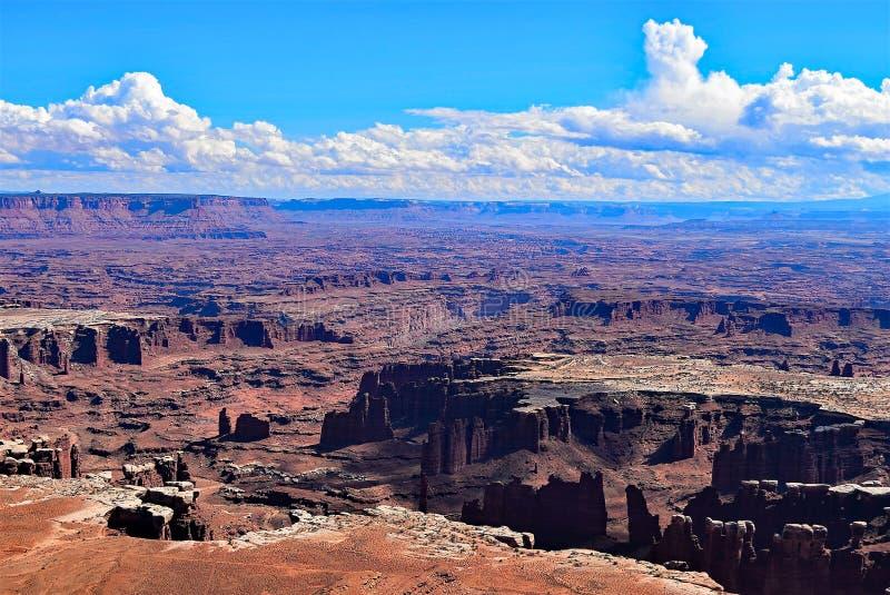 Остров в небе Национальный парк Canyonlands Юта стоковое изображение rf