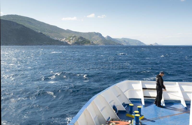 Остров гидры стоковое фото