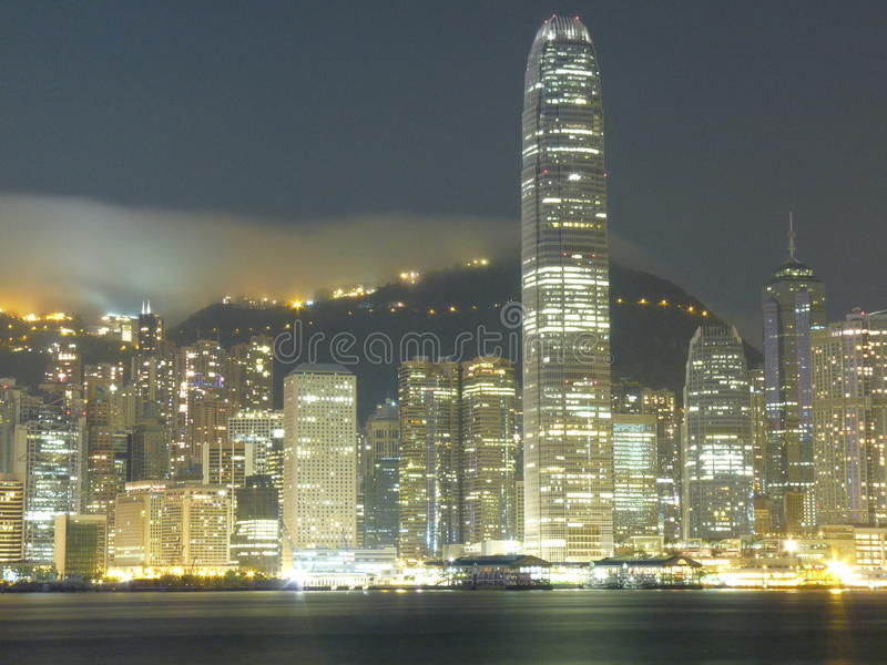 Остров Гонконга стоковая фотография