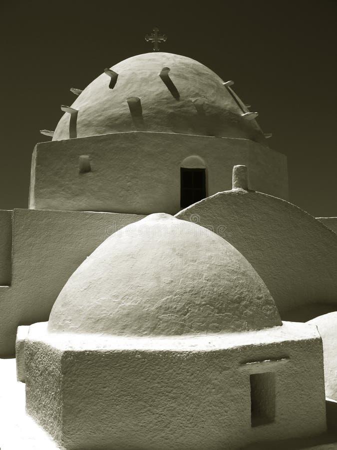 остров Греции церков греческий правоверный стоковое фото rf