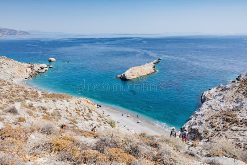 остров Греции folegandros стоковые изображения rf